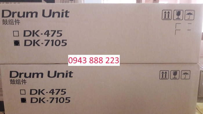 Cụm trống MK475 dùng máy kyocera FS6525/6530/6025/6030