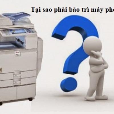Tại sao cần bảo trì máy photocopy thường xuyên và hướng dẫn thực hiện